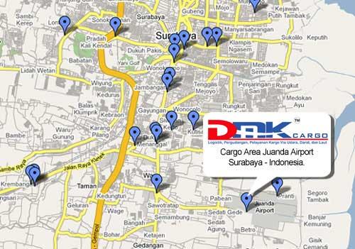 lokasi cargo bandara
